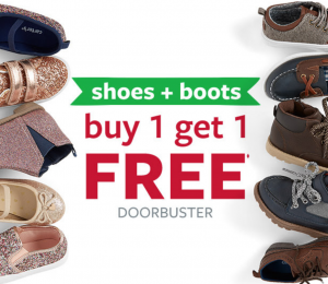 Carters: Buy One Get One FREE Shoes