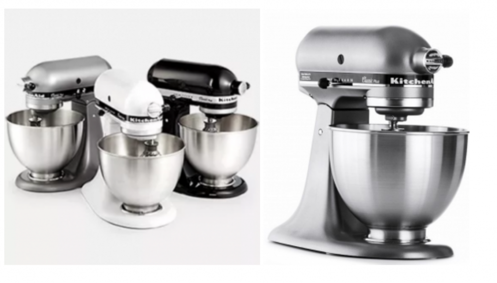 Get a head start on your shopping at the Macy's Black Friday Preview Sale! Grab the KitchenAid KSM75 4.5 Qt. Classic Plus Stand Mixer for just $189.99!