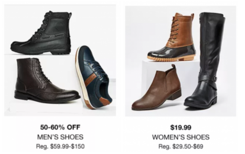 2aa8fddf1f3 Macy's Black Friday Preview: Women's Shoes $19.99! Men's Shoes 50-60 ...