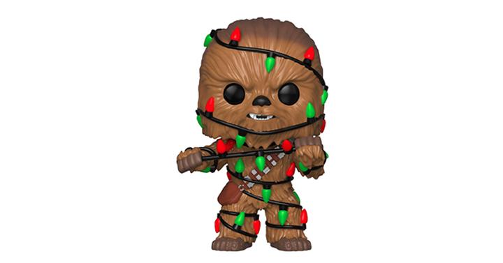 Star Wars: Chewie W//Lights 2018, Toy NEU Funko Pop Holiday