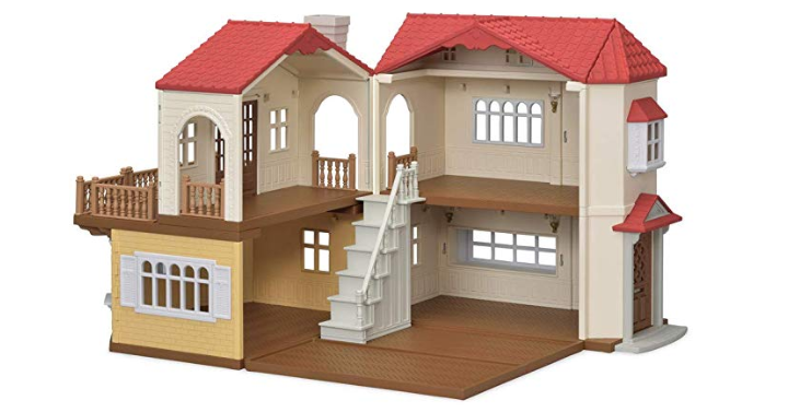 070bb07b688e Amazon has the Calico Critters Red Roof Country Home for only  44.16! (Reg.   69) This cute home can be opened up for play at 90 degrees