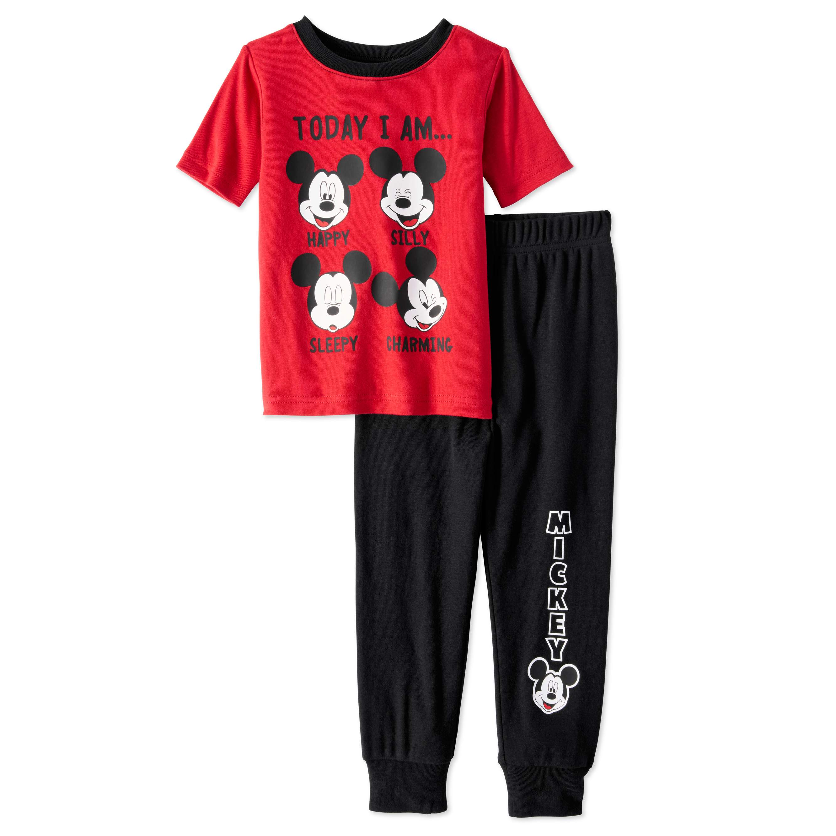cce2261ae Mickey Mouse Baby Toddler Boys  Fit Pajamas 2 Piece Set Only  7.00 ...