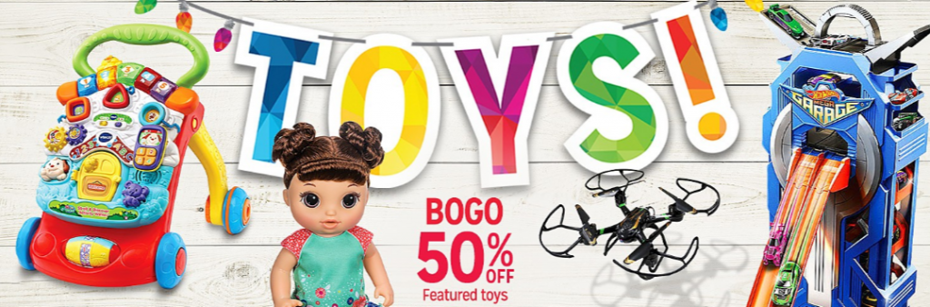 d6cbefcf5b4 Cross tons of toys off your holiday shopping list with the Kmart Cyber  Monday Bogo 50% off toys deal! For a limited time