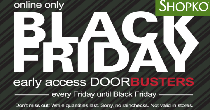 1384a82fd Shopko  Early Black Friday Doorbuster Deals Available Today! (Online ...