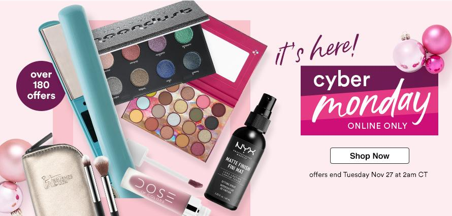 de31dcd2931 Head over to ULTA where their Cyber Monday sale is LIVE! Shop from over 180  different special offers and promotions!