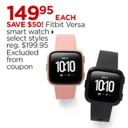 Fitbit Versa Smart Watch Only 149 95 Cyber Monday Deal Freebies2deals