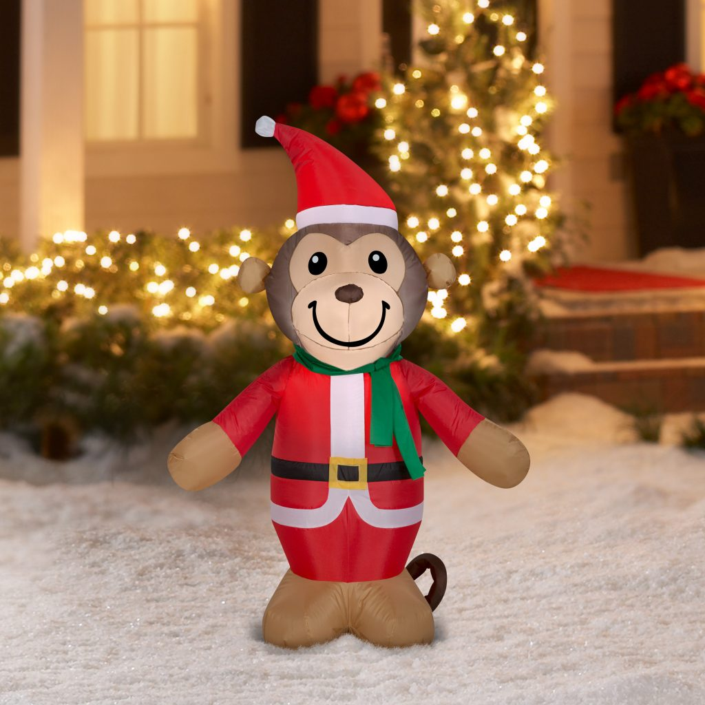 Holiday Time Inflatable Airblown Monkey Only 7 99