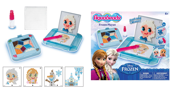 Right now Amazon has the Disney Frozen AquaBeads Frozen Playset for just   6.97! (Reg  19.99) You create your artwork with ... b456aece0c58
