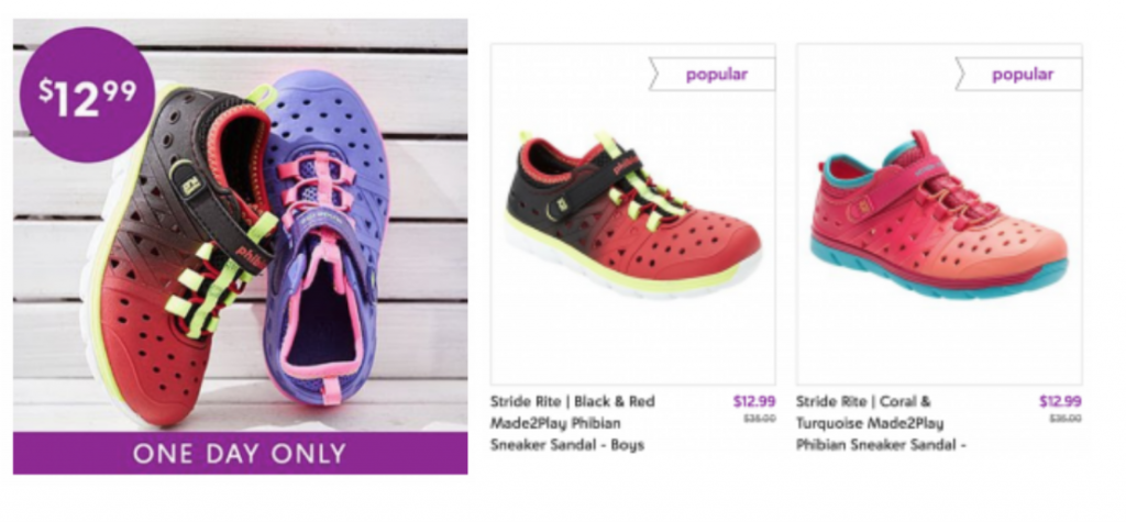 89149bc45b9 Stride Rite Phibian Sneaker Sandals Just  12.99 Today Only! (Reg ...