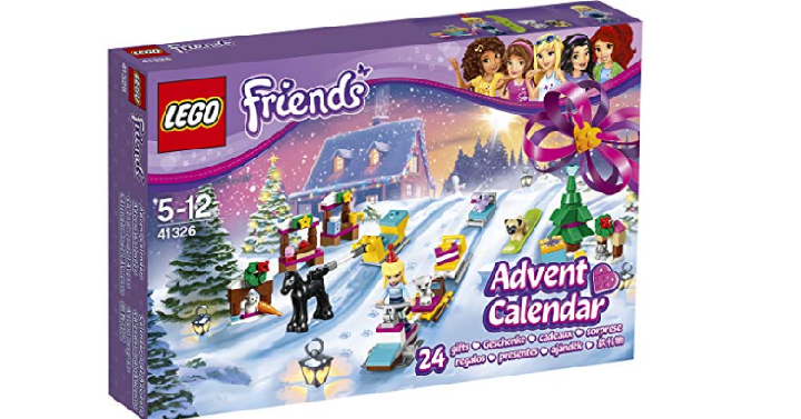lego friends advent calendar only reg 60. Black Bedroom Furniture Sets. Home Design Ideas