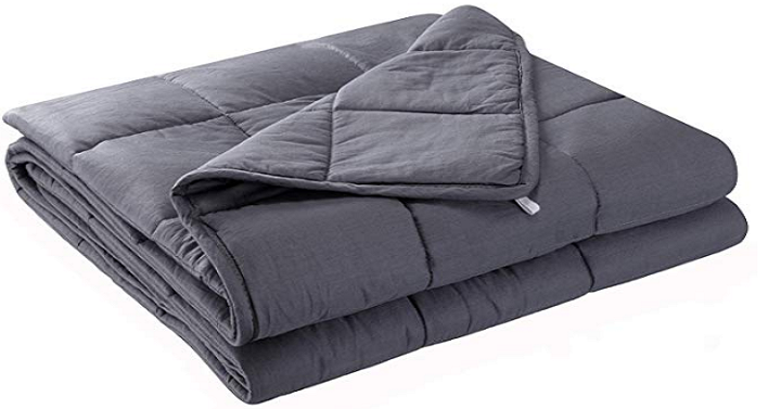 anjee 15 lb weighted blanket 48 x 72 inches only shipped w code freebies2deals. Black Bedroom Furniture Sets. Home Design Ideas