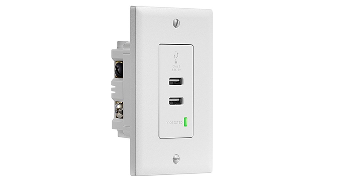 outlet store 29bcb 8d1cf Convenience and surge protection! Have you thought about putting these new  outlets in your house  We changed a few of our outlets to something similar  and I ...