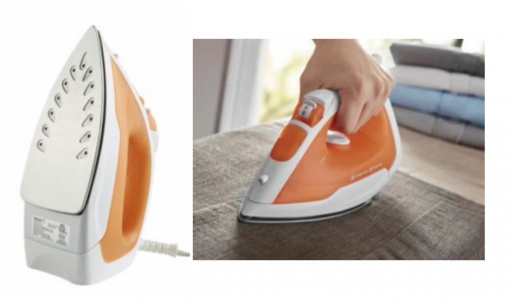 df63eef025d8 WOW! This is a crazy low price for an iron! It would make a great wedding  gift! Grab the Mainstays Lightwieight Handheld Steam Iron for just  7.44!