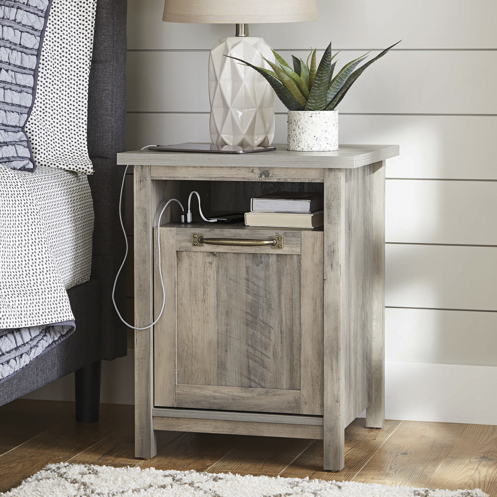 Better Homes Gardens Modern Farmhouse Nightstand Only 99 00