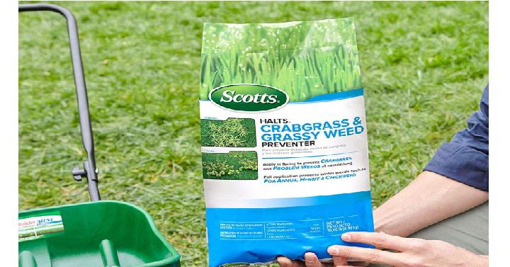 scotts halts crabgrass & grassy weed preventer
