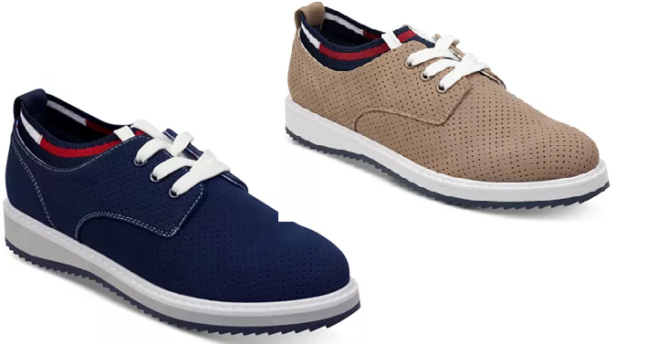 2d686dbf42c Macy s has the Women s Tommy Hilfiger Sinclar3 Lace-Up Oxfords for only   36.93! (Reg.  79) You can choose from these two fun colors.