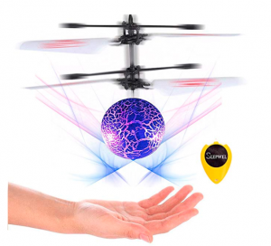 Fun UFO Flying Ball Magic LED Light With Remote Just 10