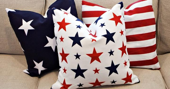 4th Of July Pillow Covers Only 799