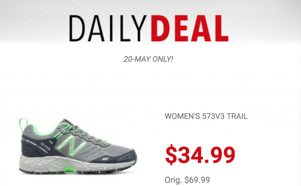 New Balance Women's 573V3 Trail Running Shoes Just $34.99
