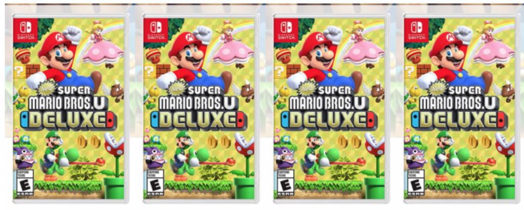 New Super Mario Bros  U Deluxe-Nintendo Switch Just $45 00