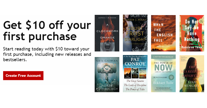 Walmart: $10 Off Your $10 01 or More eBook and Audiobook
