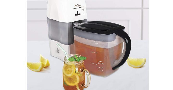 Mr. Coffee 3-Quart Fresh Tea Iced Tea Maker - Only $19.94 ...