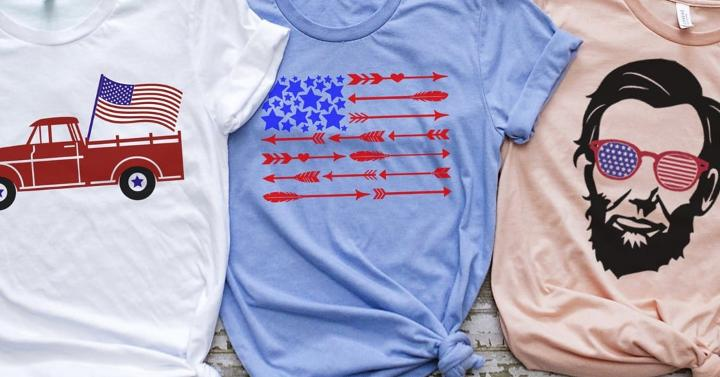 4th Of July Tees Only 1399