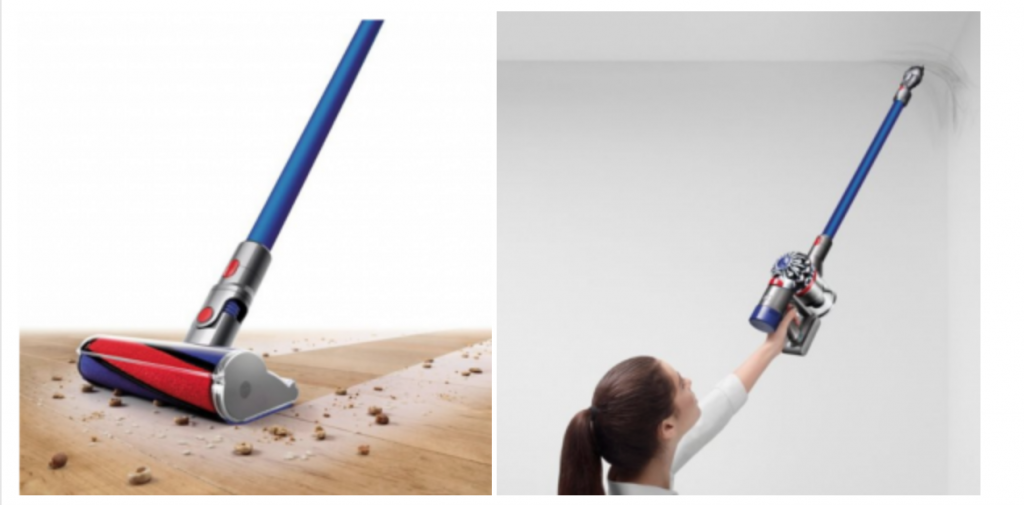 Dyson V7 Fluffy Hardwood Cord Free Stick Vacuum Just 22999 Today Only Reg 34999