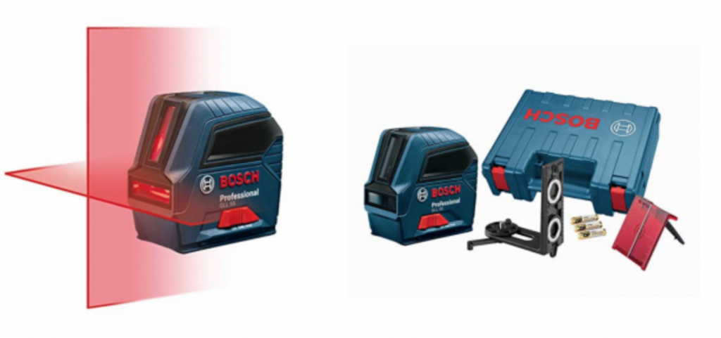 Bosch Self Leveling Cross Line Laser Just 9999 Today Only Reg 14999
