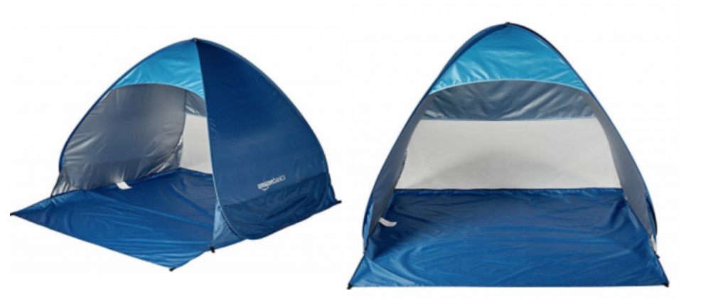 Amazonbasics Beach Tent Just 15 99 For Amazon Prime