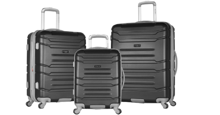 566daf457d8f Today only, June 3rd, Home Depot takes Up to 75% off Select Luggage Sets +  FREE Shipping! No coupon code required. There are 24 different items  included in ...