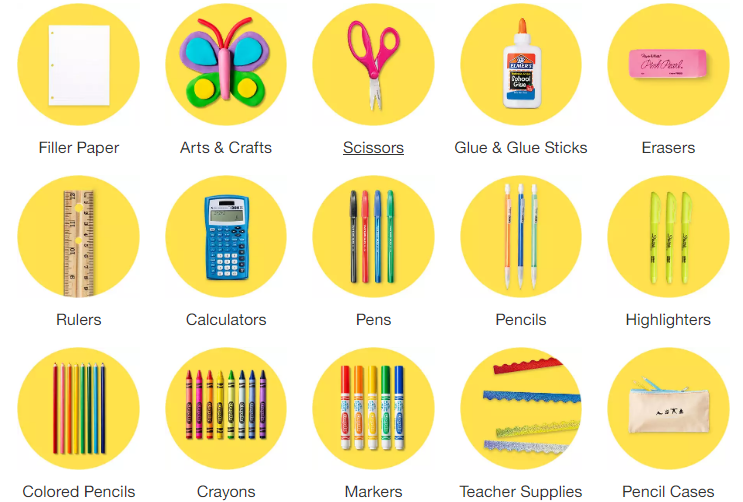 HOT! Extra 15% Off Target School Supplies! (Cartwheel
