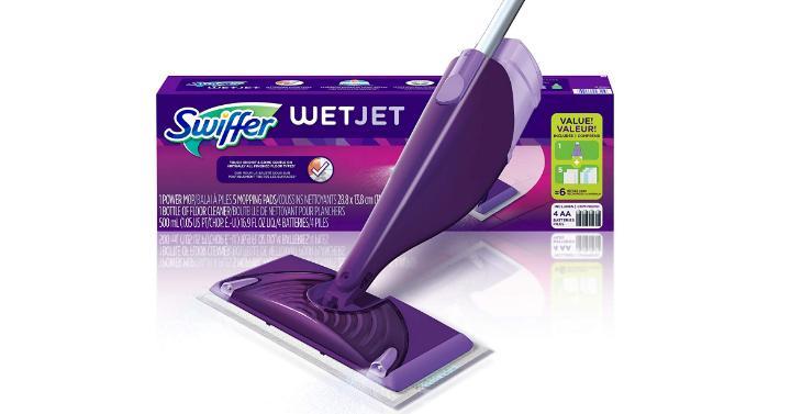 Swiffer Wetjet Hardwood And Floor Spray Mop Cleaner