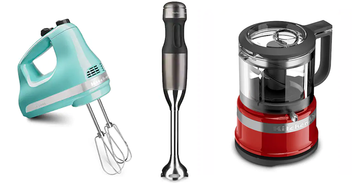 Kohl S Black Friday Sale Kitchenaid 3 5 Cup Food Chopper 5 Speed Ultra Power Hand Mixer Or 2 Speed Hand Blender Just 29 99 Common Sense With Money