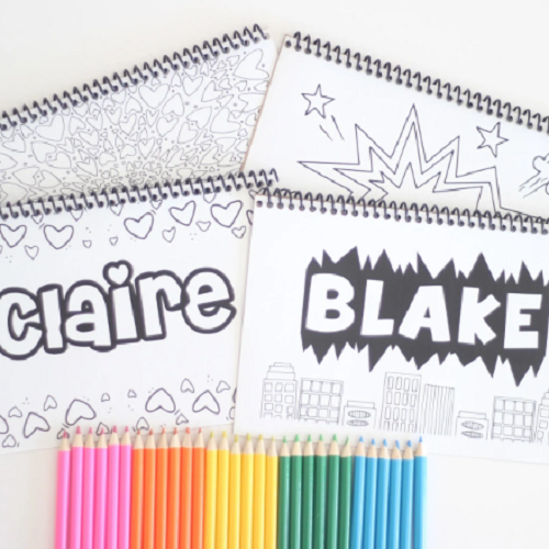 - Personalized Coloring Books Only $7.99!! - Common Sense With Money