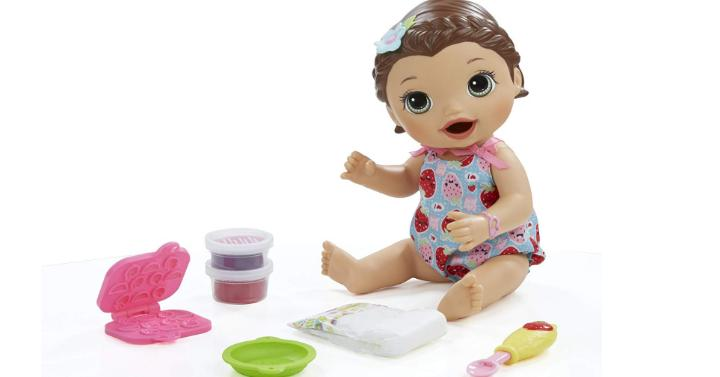 Baby Alive Super Snacks Snackin Lily Brunette Only