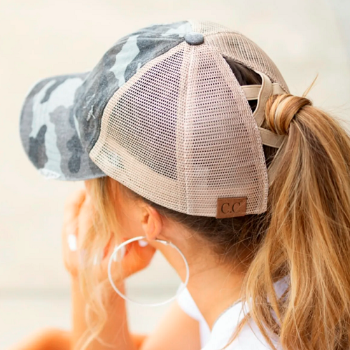C.C® Criss-Cross Ponytail Caps Only $16.99 + FREE Shipping! (Reg ...