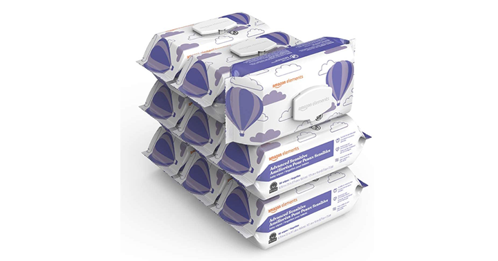 Amazon Elements Baby Wipes, Advanced Sensitive, 810 Count – Just .14!