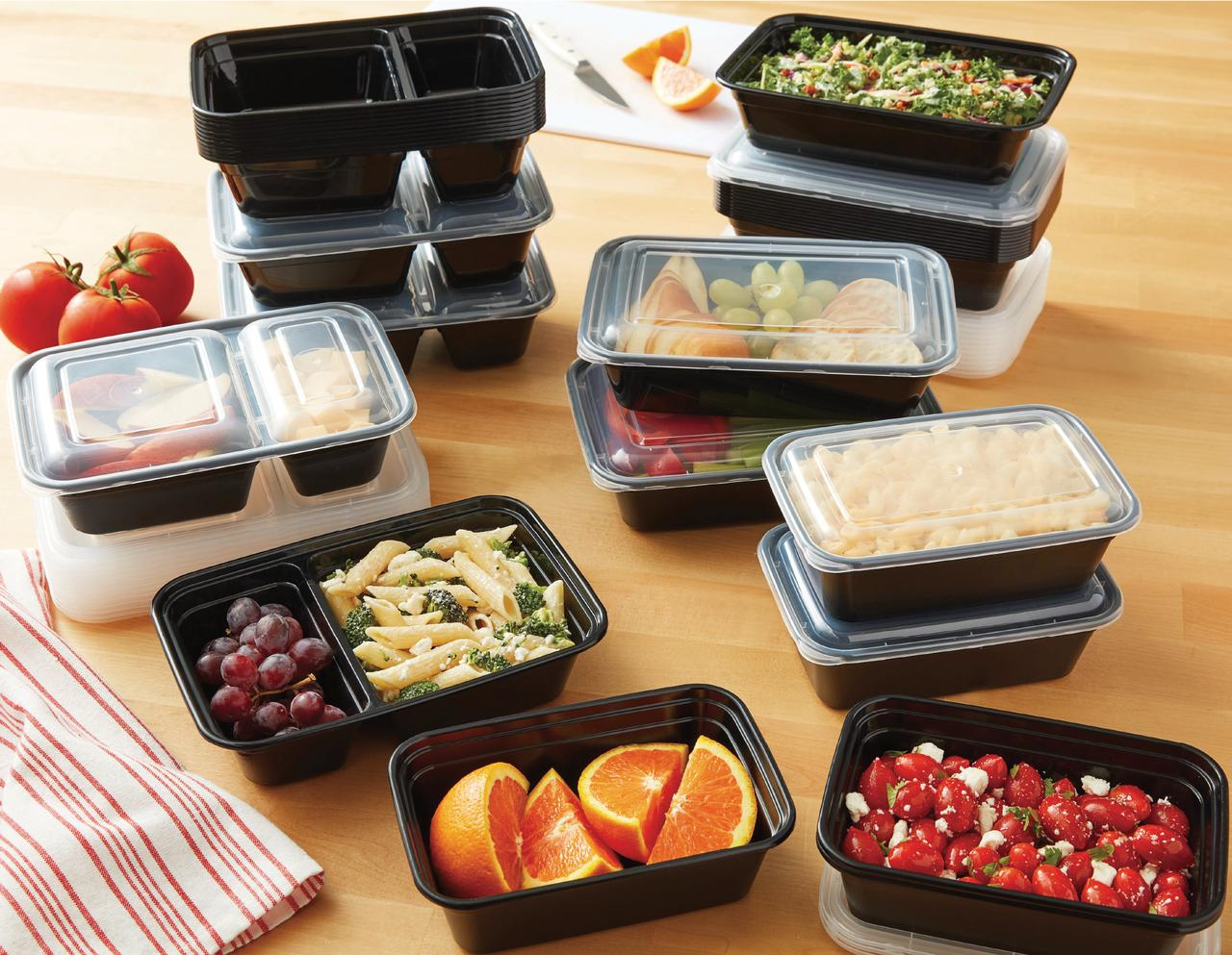 Mainstays 70-pc Meal Prep Container Set ONLY .00 + FREE Pickup!