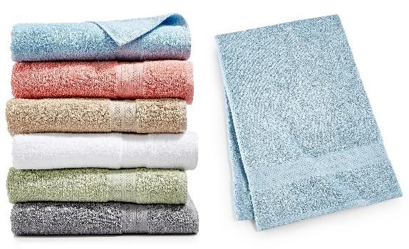 Sunham Soft Spun 27″ x 52″ Cotton Bath Towels ONLY .99 From Macy's!