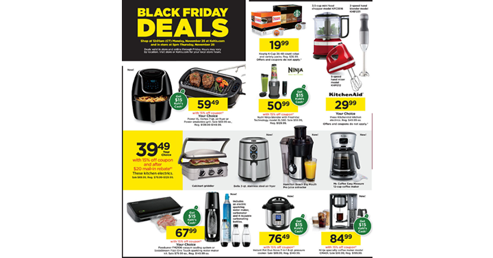 Kohl S Black Friday Sale The Deals Are Hot And They Start